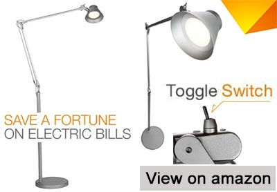 Brightech Contour LED Dimmable Floor Lamp U2013 90% Energy Savings
