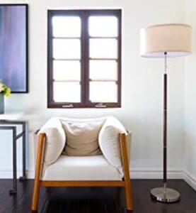brightech carter floor lamp for mid century modern living rooms