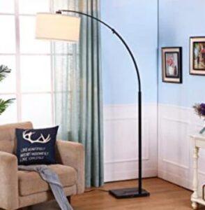 adjustable arc floor lamp