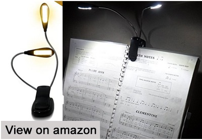 best clip on book light reviews