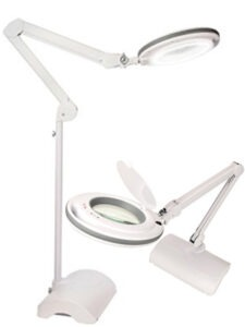 best 2-in-1 floor and table magnifying lamp