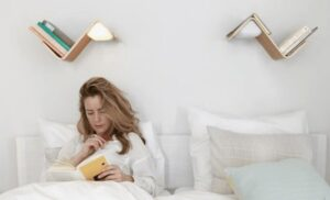 A reading lamp with multi purpose