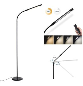 Adjustable lamp with remote control