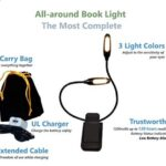 portable reading light for bed