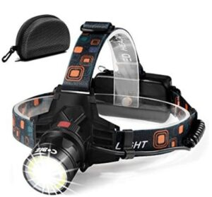 best waterproof usb rechargeable headlights that can last 10 hours
