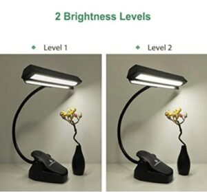 clamp on reading light for beds
