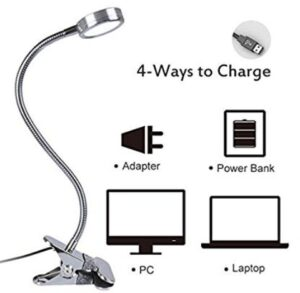 clip on reading lamps for bed