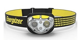 Energizer rechargeable headlamp for reading with 400 lumens