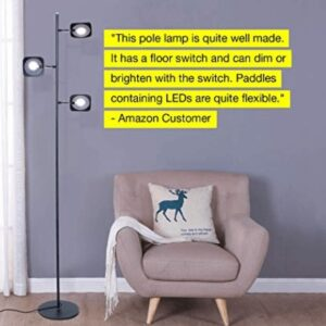 led craft floor standing lamp