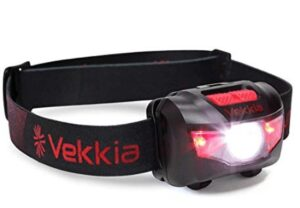 Bright headlamp with adjustable strap 160 lumens