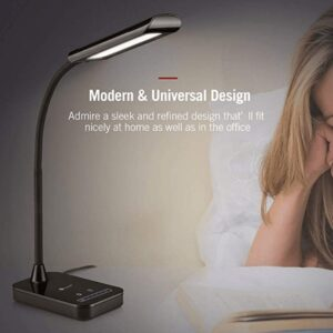 desk light with adjustable arm