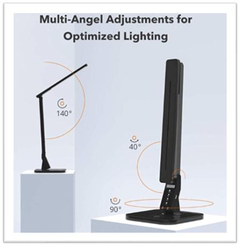 Taotronics tt-dl01 led table lamp