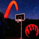 light up basketball backboard