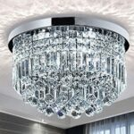crystal glass ceiling light for living room