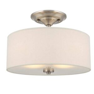 semi flush bedroom light