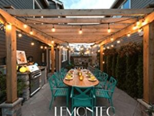 weatherproof string lights for outdoor use