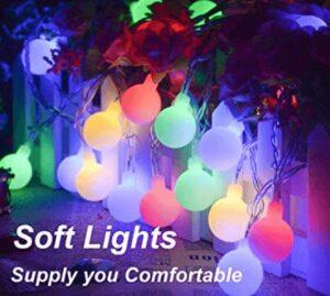 Waterproof Ball Lights for Garden and Bedroom