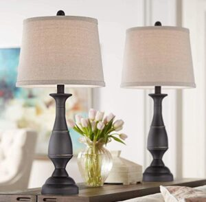 bronze table lamp for living room