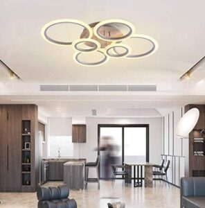 LED dimmable ceiling light fixture