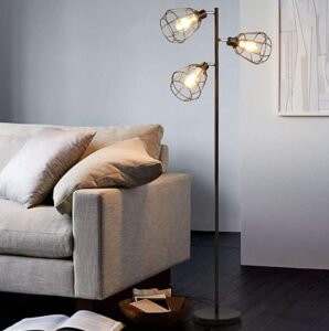 Industrial style 3-light lamp