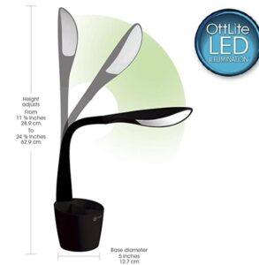 OttLite desk lamp for tasks