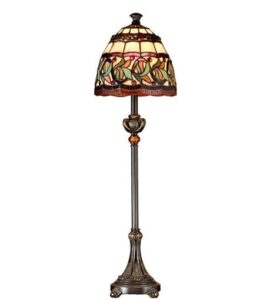 Tiffany Style extra tall table lamp