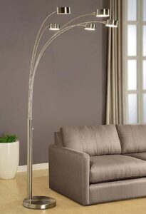 extra tall lamp with rotatable shades