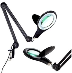Brightech LightView PRO LED Magnifying Glass Desk Lamp