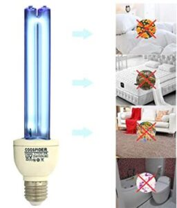 portable uv disinfection lamp 25 watt
