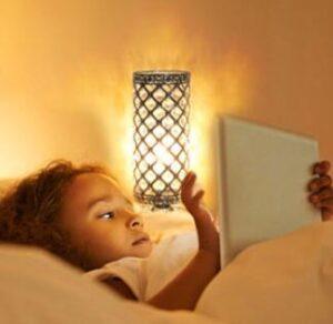Nightstand touch sensor lamp