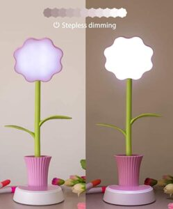 flower table lamp for little girls
