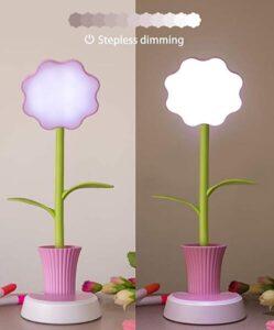 flower table lamp for little girls