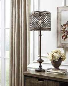 Signature Design Metal Buffet Table Lamp