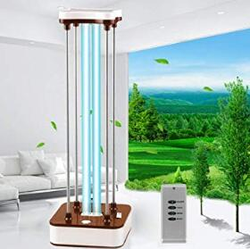 uv disinfection lamp with remote control