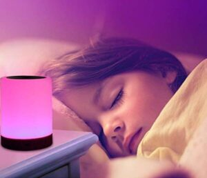 small touch control bedside lamp