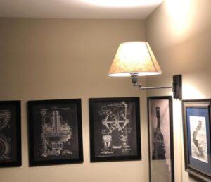 wall lamp set of 2
