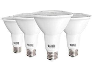 Sunco 4 pack led dimmable bulbs