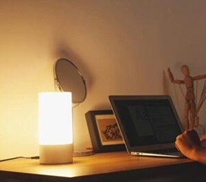 Aukey brand table lamp with touch sensor
