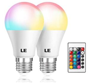colored outdoor light bulbs with remote
