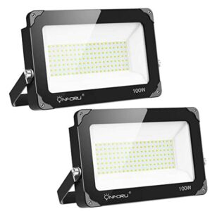 Onforu 2 Pack 100W LED Flood Light and Security Light Review