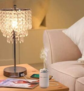 Crystal desk lamp for home