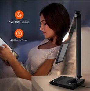 TAO TRONICS TT-DL16 STYLISH METAL LED DESK LAMP