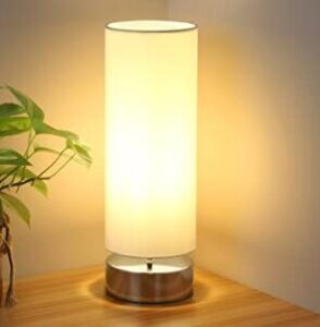 touch table lamp with metal base