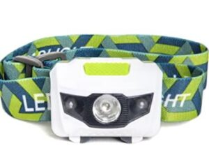 water and shock resistant kids headlamp