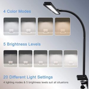 desk lamp with wide lighting area