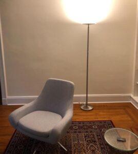 """Kira Home Horizon 70"""" Modern LED Torchiere Floor Lamp"""