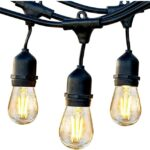 waterproof string light bulbs for outdoors
