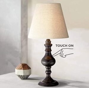 vintage touch table lamp for end tables or side table