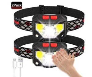 8 modes usb children headlamps