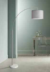 Adesso curved arc floor lamp